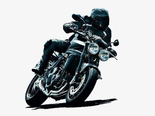 騎摩托車撞樹的青年得救經過